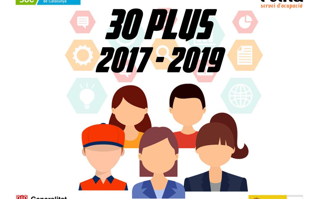 Presentada la segona edició del programa 30 Plus amb l'objectiu de reduir l'atur en la franja d'edat entre 30 i 45 anys