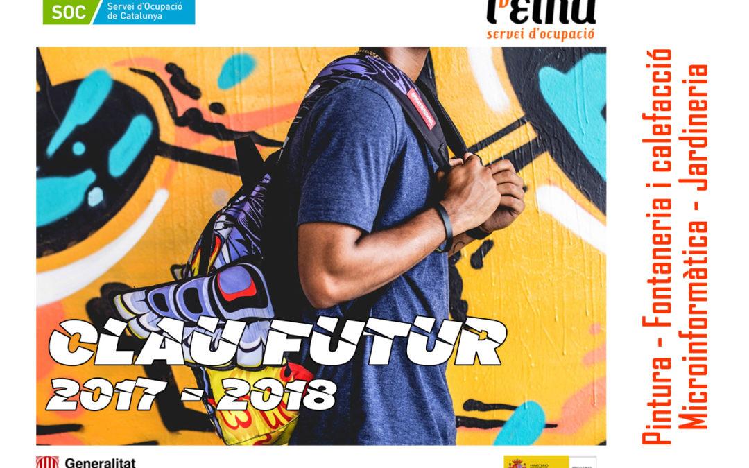 L'EINA presenta el programa Clau Futur per formar i orientar professionalment joves sense estudis ni ocupació