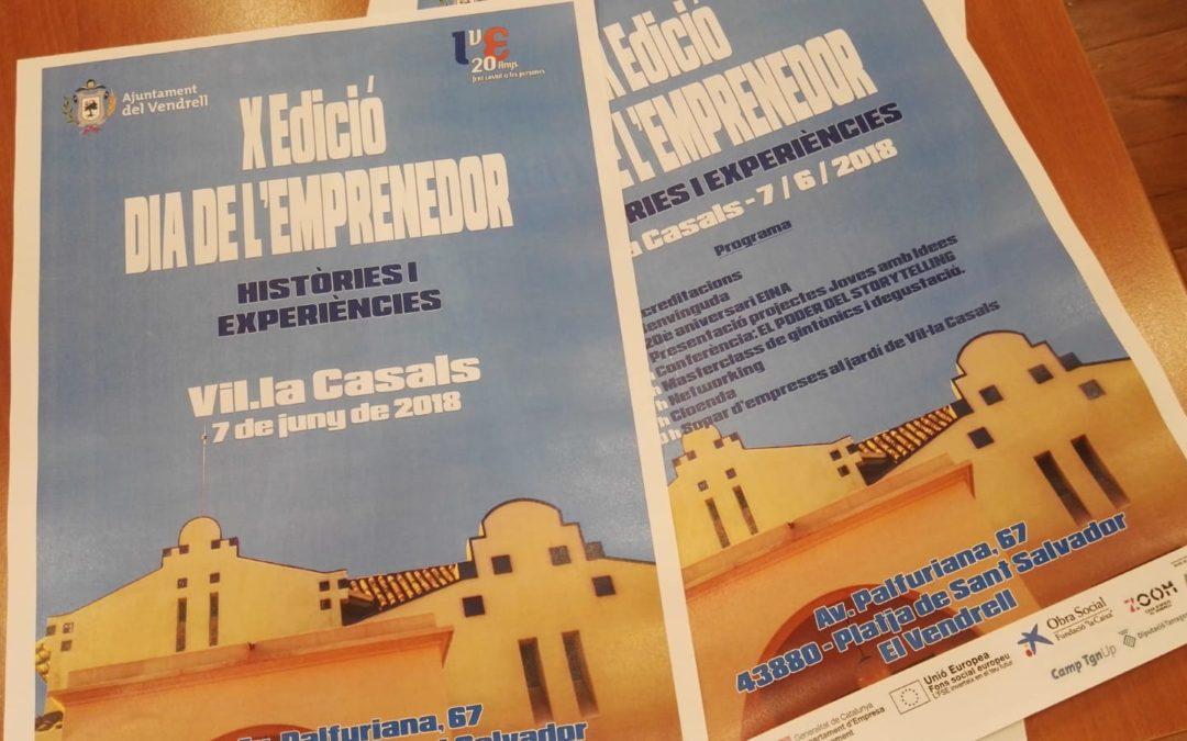 """Roda de premsa per a la presentació del X Dia de l'Emprenedor """"Històries i experiències"""""""
