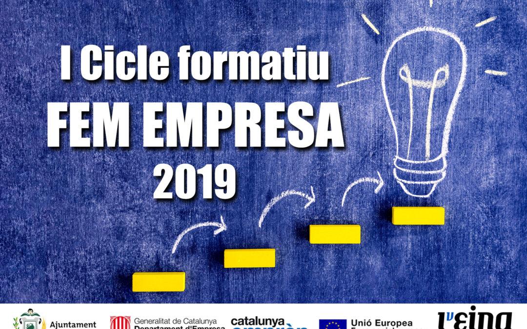 Cicle Fem Empresa, 9 cursos de formació per a emprenedors i empresaris