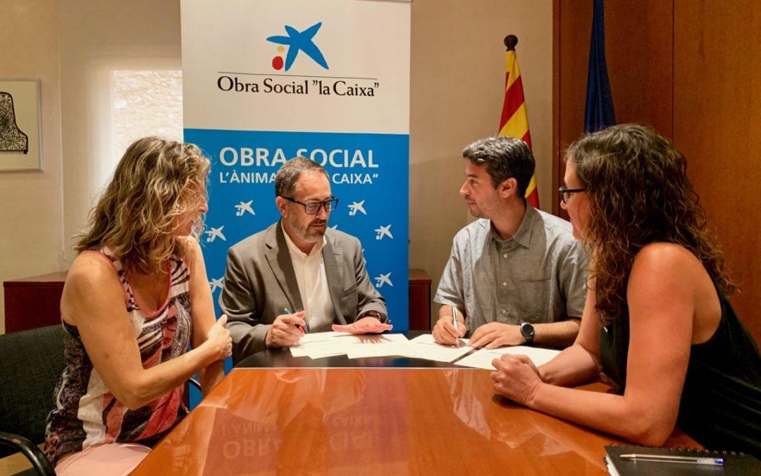 """L'Obra Social """"la Caixa"""" aporta 13.000 euros per al desenvolupament de tres projectes de l'Ajuntament del Vendrell"""