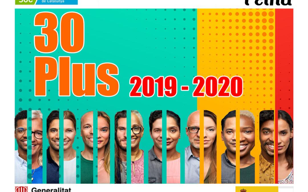 Nova edició del programa 30 Plus, que trobarà feina a una cinquantena de persones