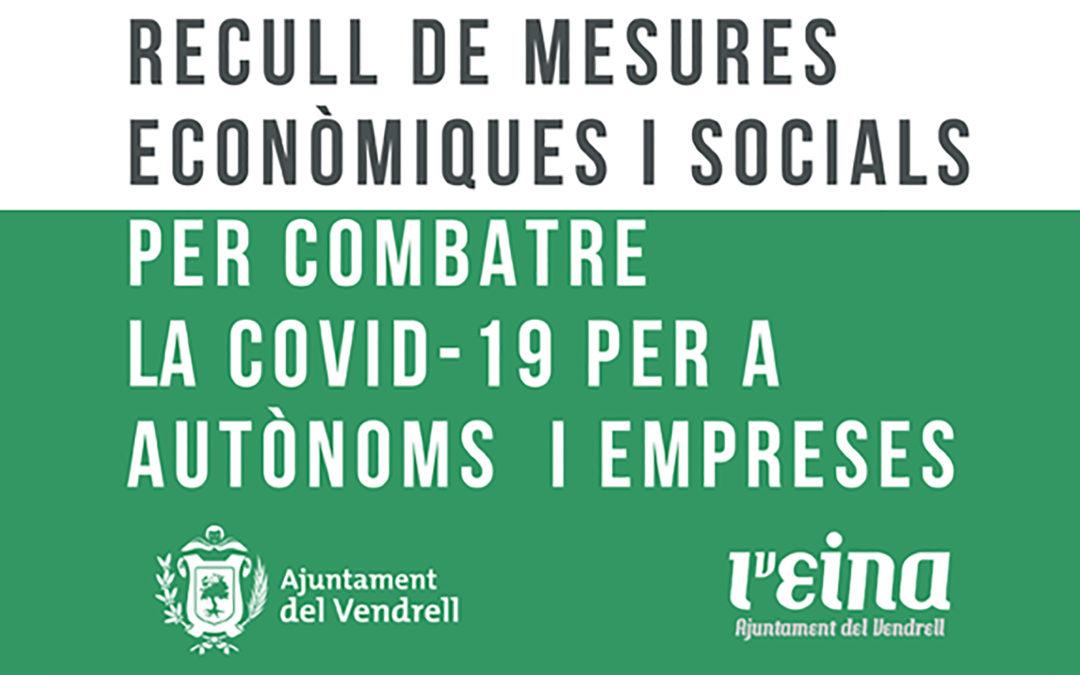 L'EINA elabora un compendi de mesures econòmiques i socials per a combatre el COVID-19.