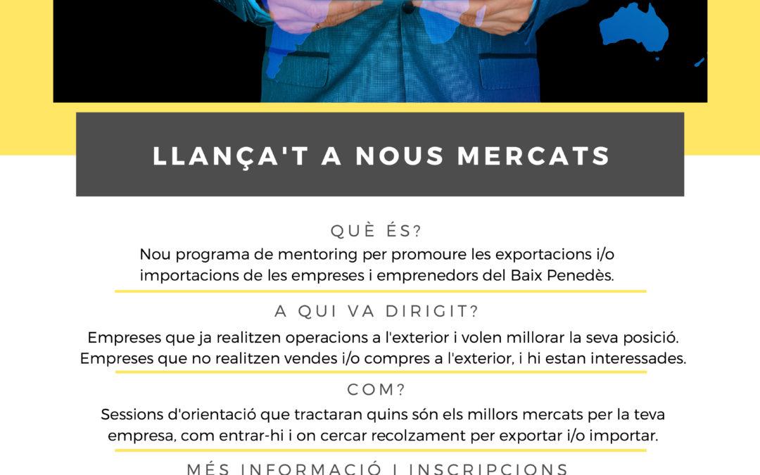 """""""Llança't a nous mercats"""", internacionalitza el teu negoci"""